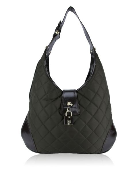Bolsa Burberry Brook Hobo Marrom