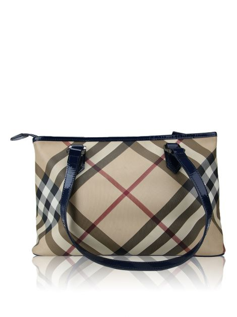 Bolsa Burberry Canvas Estampada