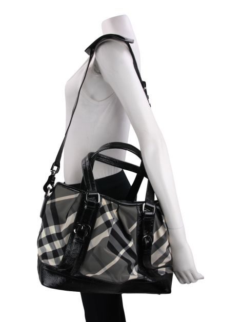 Bolsa Burberry Lowry Check House Nylon