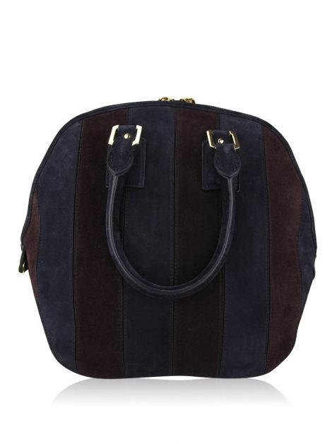 Bolsa Burberry Orchard Striped Suede