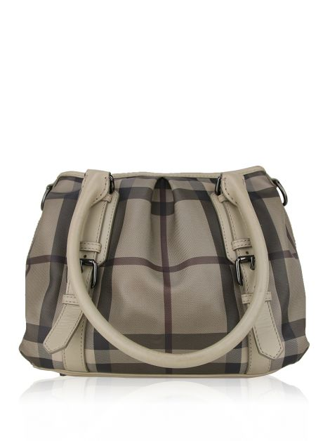 Bolsa Burberry  Smoked Check Small Northfield