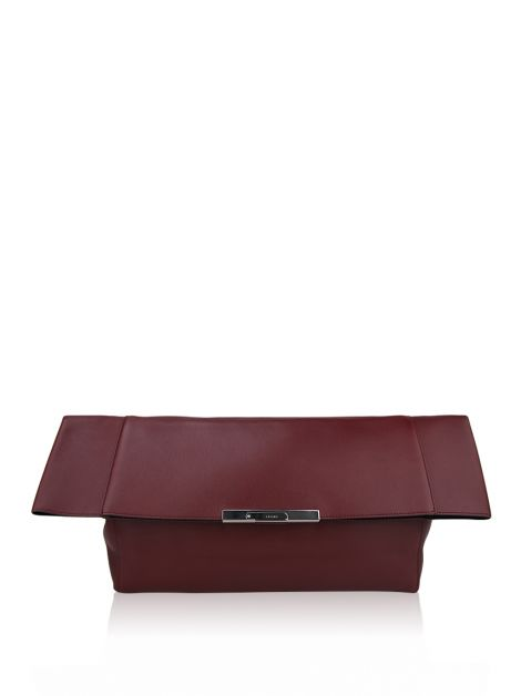 Clutch Céline Fold Over Vinho