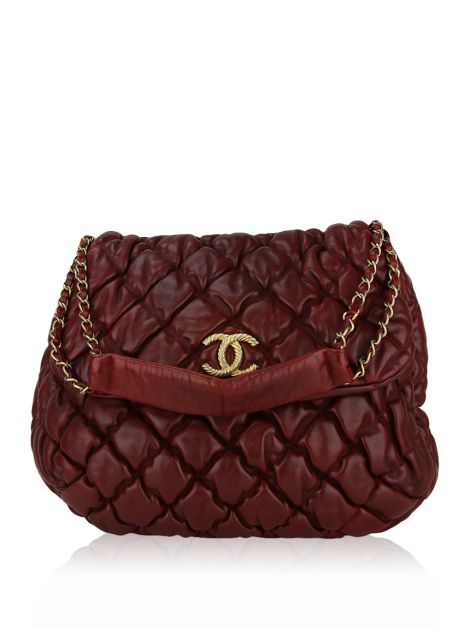 Bolsa Chanel Bubble Burgundy