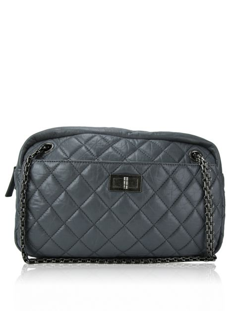 Bolsa Chanel Camera Case Cinza