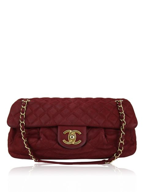 Bolsa Chanel Coco Pleats Vermelha