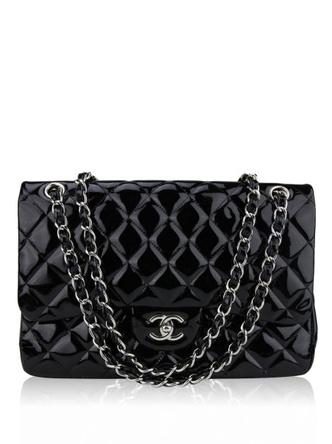 Bolsa Chanel Double Flap Medium Preto