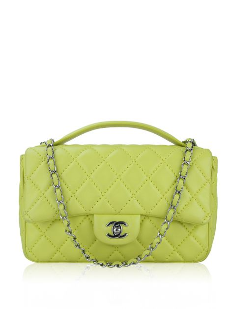 Bolsa Chanel Easy Carry Medium Amarela