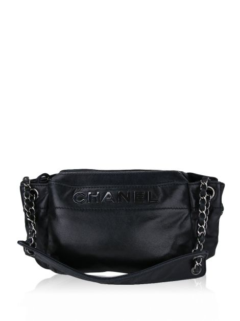 Bolsa Chanel LAX Accordeon Preta
