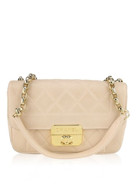 Bolsa Chanel Mini Chic With Me Nude