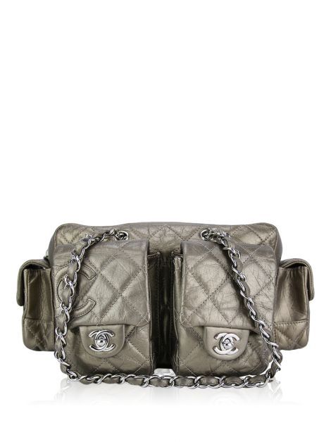Bolsa Chanel Reporter Bronze Small