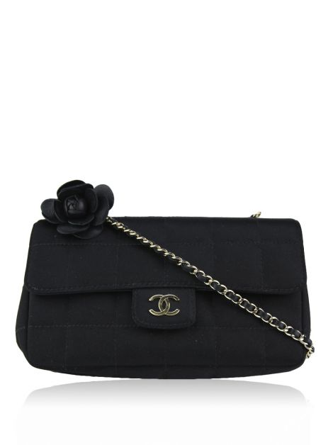 Bolsa Chanel Satin Mini Camellia Flower
