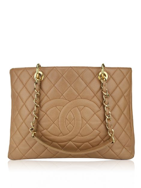 Bolsa Chanel Shopper Caviar