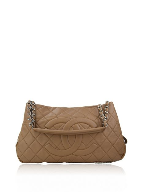 Bolsa Chanel Timeless CC Expandable Nude
