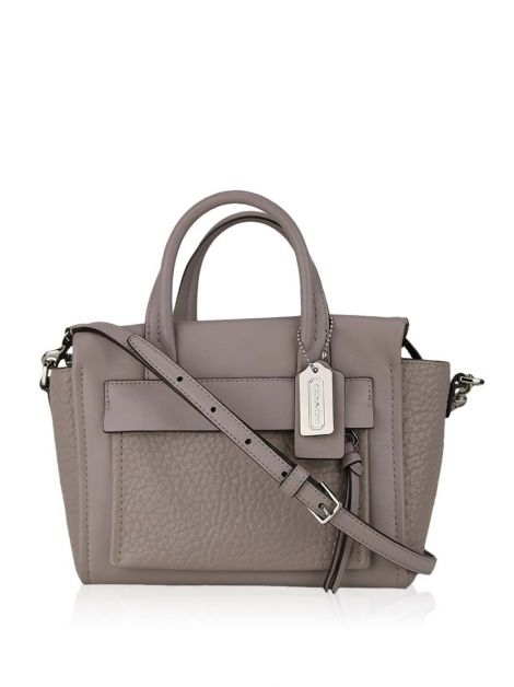 Bolsa Coach Bleecker Mini Riley Carryall Etoupe