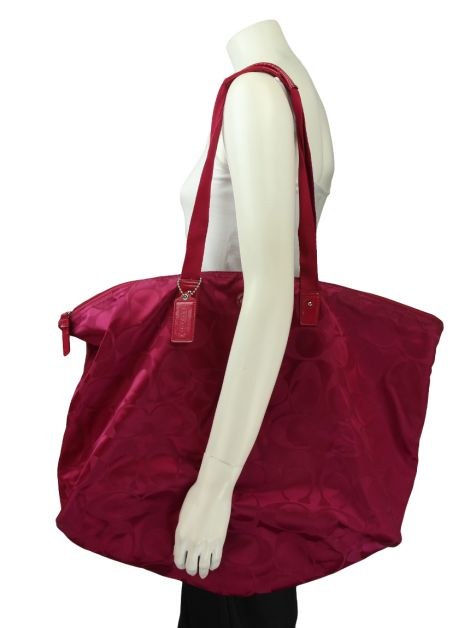 Bolsa Coach Get Away Signature Rosa
