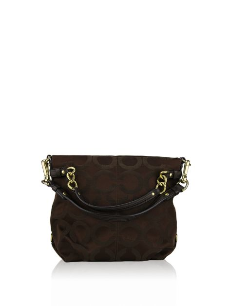 Bolsa Coach Signature Brooke OP Art