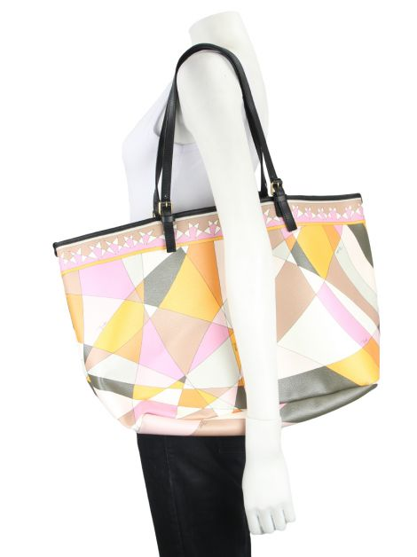 Bolsa Emilio Pucci Canvas Multicolor