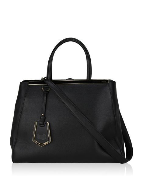 Bolsa Fendi 2Jours Medium Preta