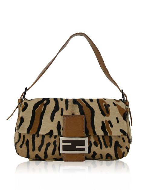 Bolsa Fendi Baguette Animal Print