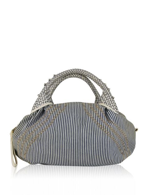 Bolsa Fendi Striped Denim Spy