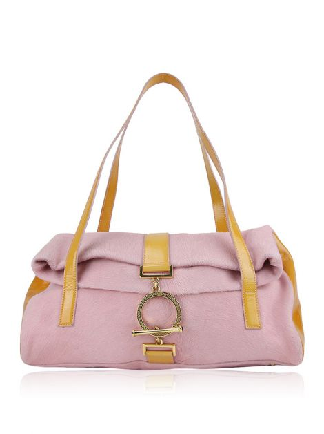 Bolsa Gianni Versace Cavalino Bicolor