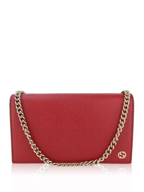 Bolsa Gucci Betty Wallet Vermelha