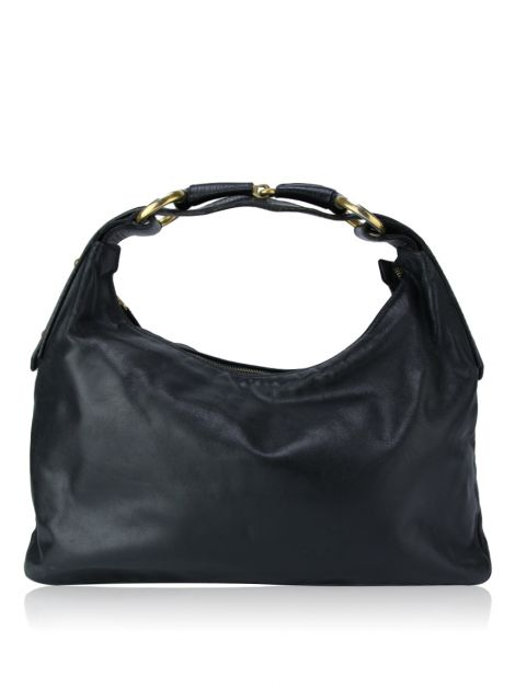 Bolsa Gucci Black Leather