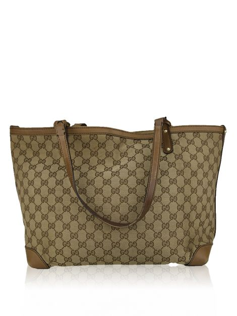 Bolsa Gucci Craft Canvas GG Tote