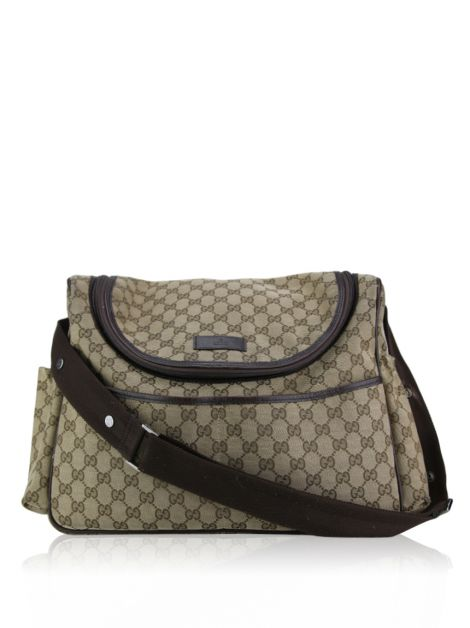 Bolsa Gucci Diapper Bag Guccissima