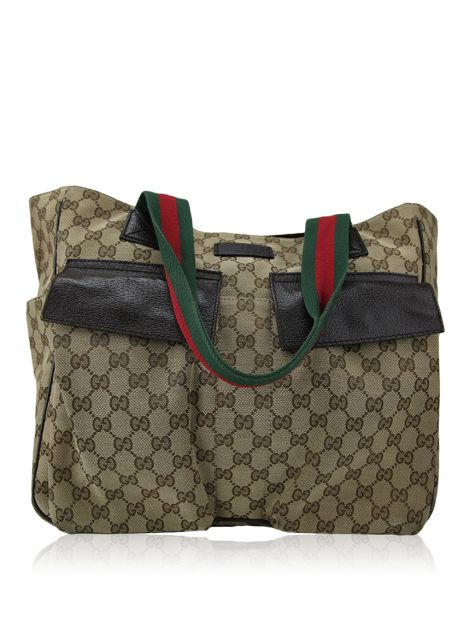 Bolsa Gucci GG Canvas Tote Bag Monograma
