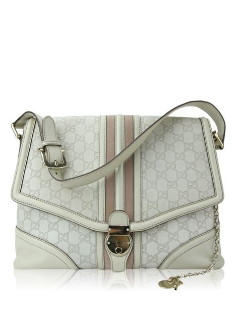 Bolsa Gucci Guccissima Large Treasure Flap