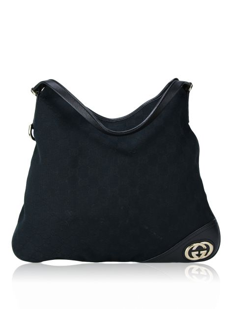 Bolsa Gucci New Britt Hobo Black