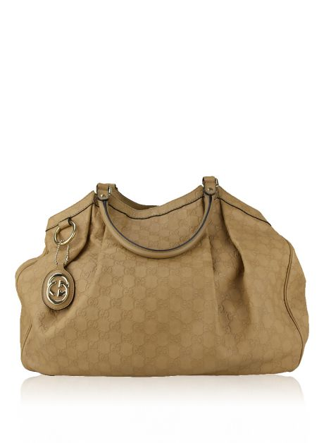 Bolsa Gucci Sukey Guccissima Leather