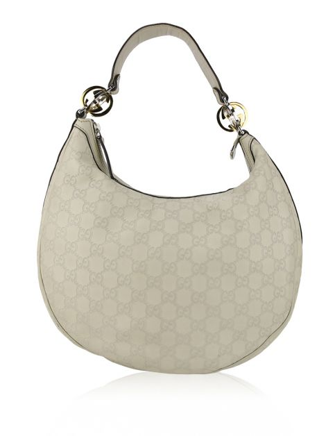 Bolsa Gucci Twins Hobo Off-White