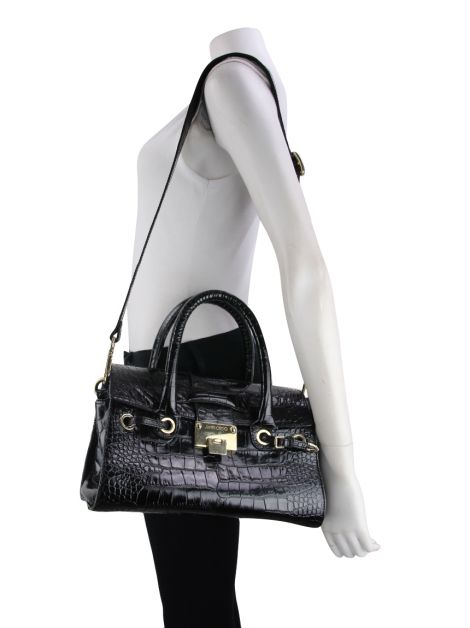 Bolsa Jimmy Choo Rosalie Embossed Leather