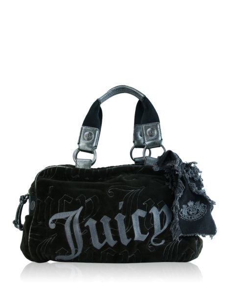 Bolsa Juicy Couture Plush Marrom