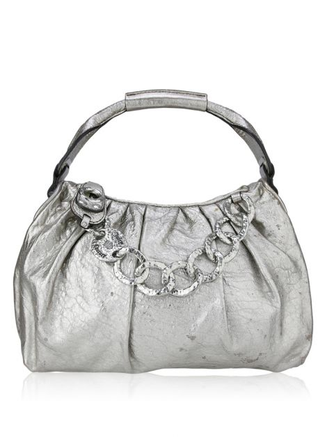 Bolsa Juicy Couture Prata Metalizada