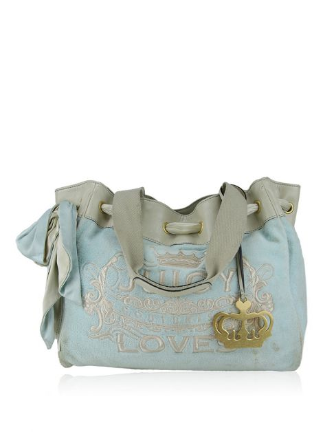 Bolsa Juicy Couture Veludo