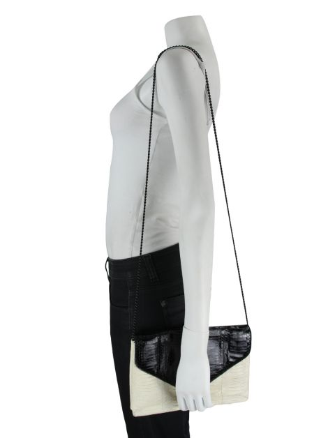 Bolsa Loeffler Randall Lock Bag Off White