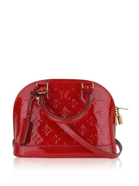 Bolsa Louis Vuitton Alma BB Red Verniz - HAY1