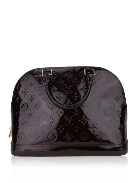 Bolsa Louis Vuitton Alma BB Roxo