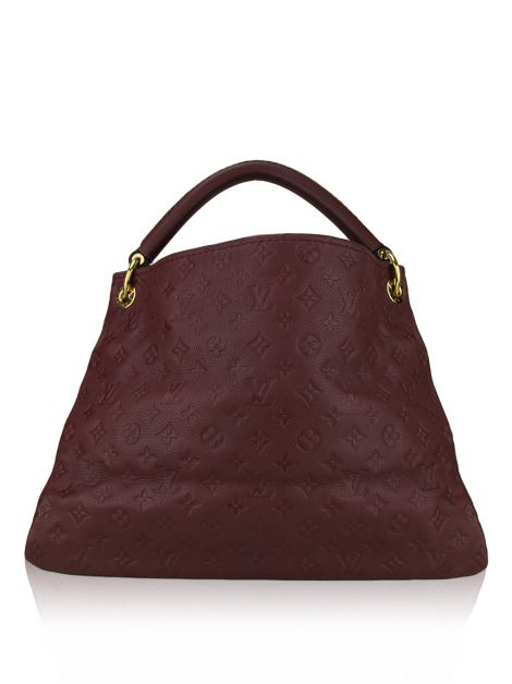 Bolsa Louis Vuitton Artsy Empreinte Bordô