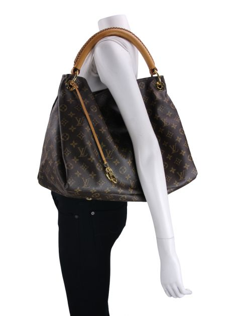 Bolsa Louis Vuitton Artsy MM Canvas Monograma