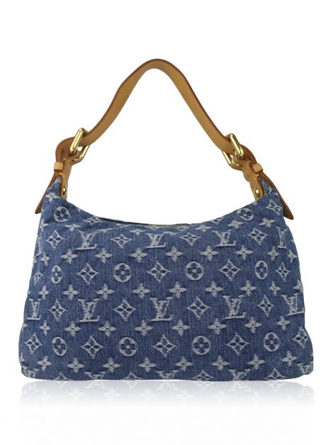 Bolsa Louis Vuitton Baggy Monogram Denim