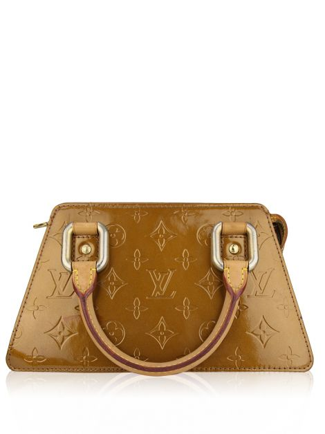Bolsa Louis Vuitton Bronze Monogram Vernis Forsyth PM