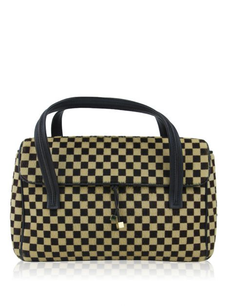Bolsa Louis Vuitton Damier Sauvage Calf Hair Lionne