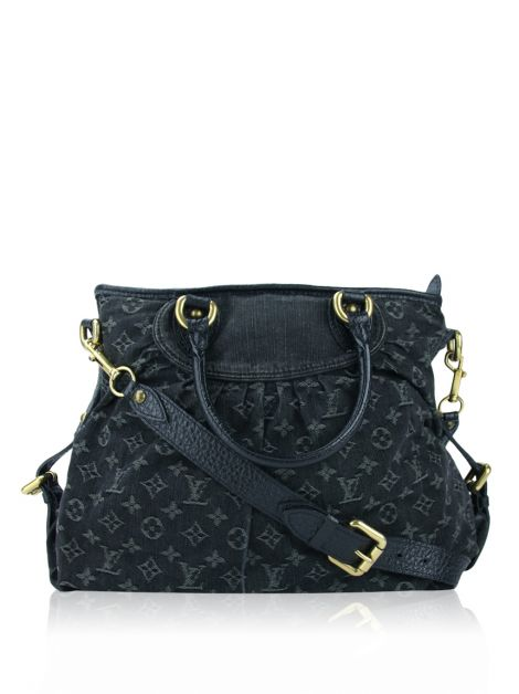 Bolsa Louis Vuitton Denim Grafite MM