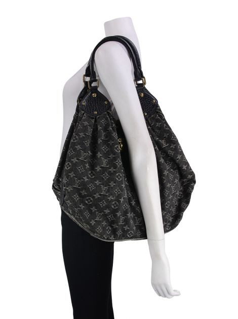Bolsa Louis Vuitton Denim Mahina XL Grafite