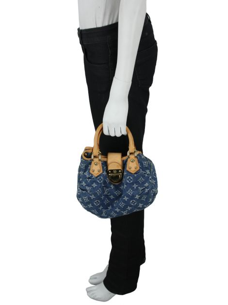 Bolsa Louis Vuitton Denim Pleaty