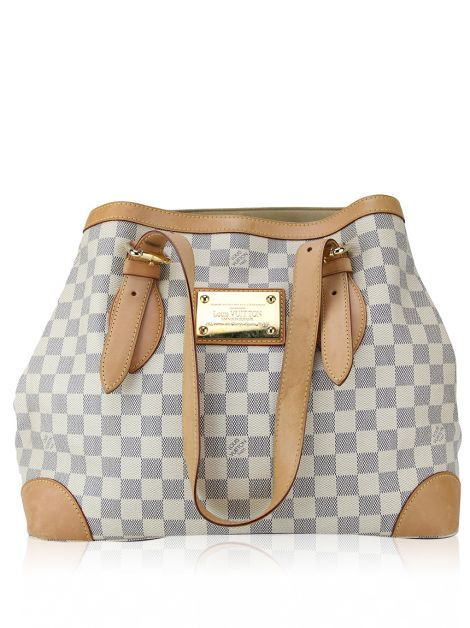 Bolsa Louis Vuitton Hampstead Damier Azur Canvas